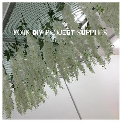Bunga Juntai Putih   Wisteria flower sewa – Your DIY Project Supplies 7ae398f40d