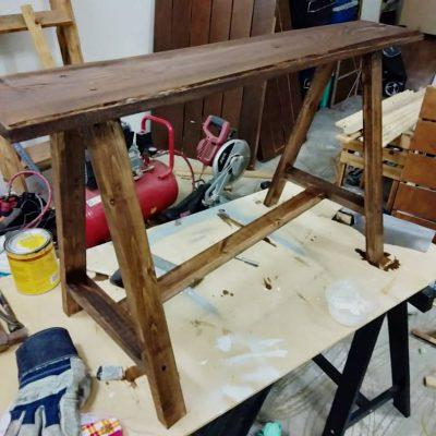 Kerusi kayu / rotan